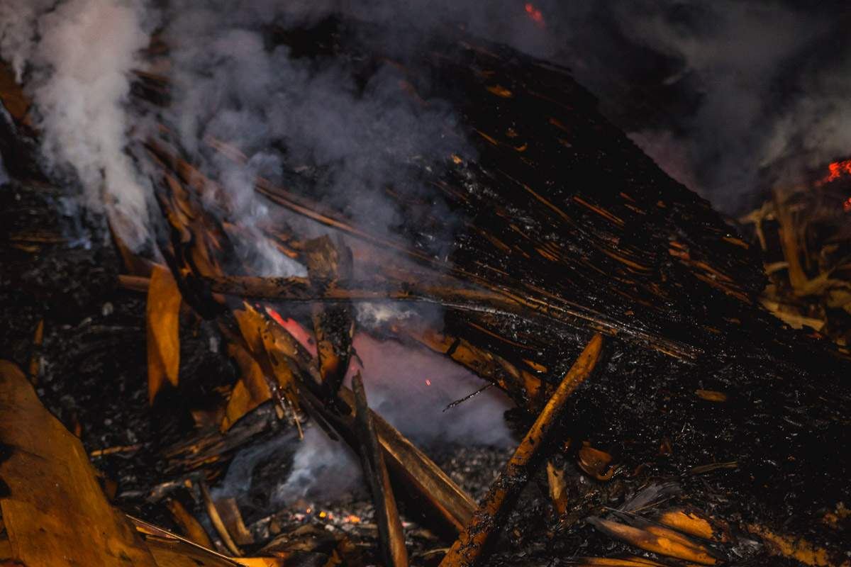 На Киевщине произошел серьёзный пожар: Город был окутан дымом