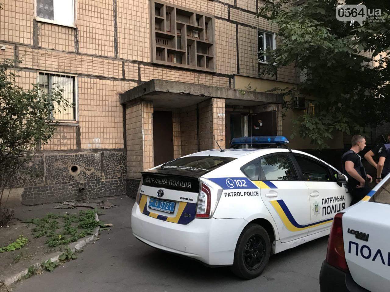 В Кривом Роге пьяный мужчина зарезал местного жителя