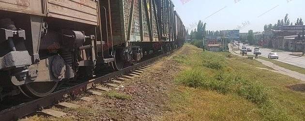 В Запорожской области пьяный мужчина едва не погиб под колесами поезда