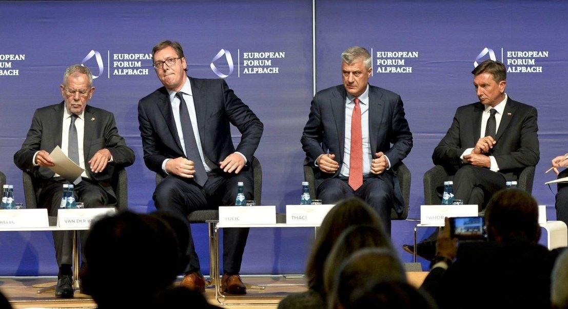 Сербия и Косово обменяются территориями