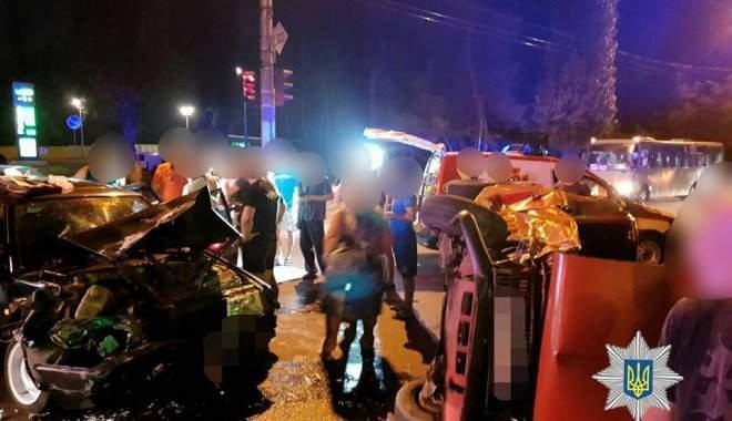 В Харькове произошло кровавое ДТП с пятью пострадавшими