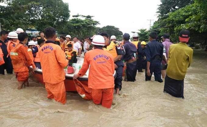 В Мьянме в результате прорыва плотины было затоплено 85 деревень