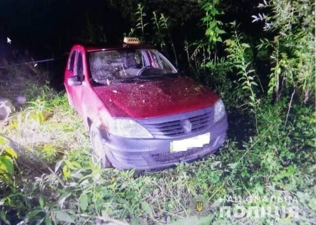 На Закарпатье обнаружили труп убитого таксиста
