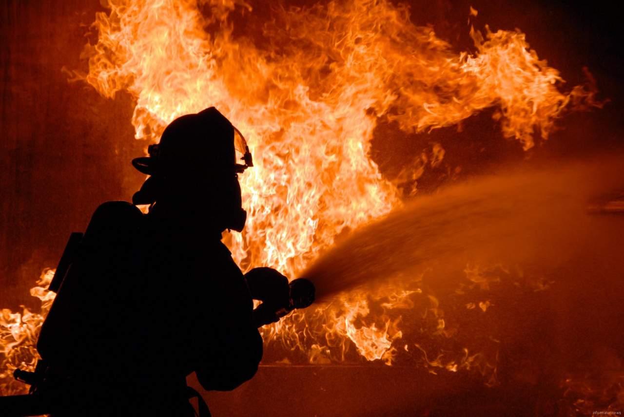 В Одесской области произошел серьёзный пожар