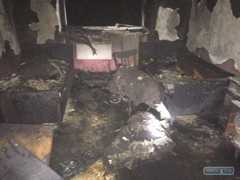 В Одесской области вспыхнуло общежитие