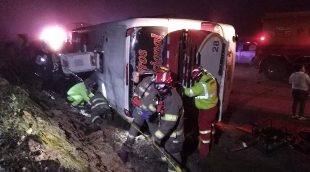В Эквадоре в результате кровавой аварии пострадали почти 40 человек
