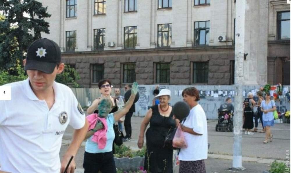 В Одессе активисты