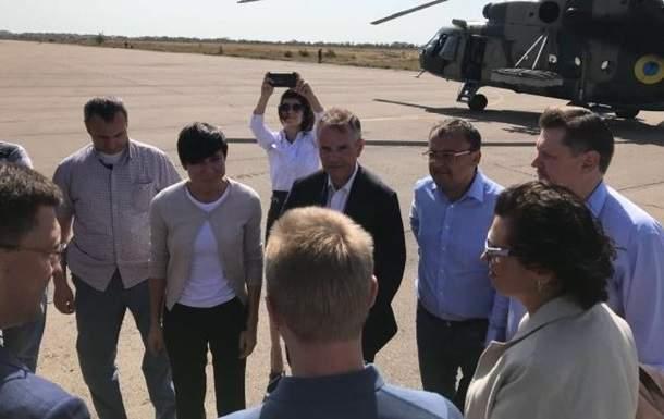 На Донбасс с визитом прибыл глава МИД Норвегии