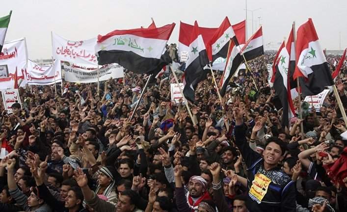 В ходе протеста в Ираке убито 5 человек. 16 раненых