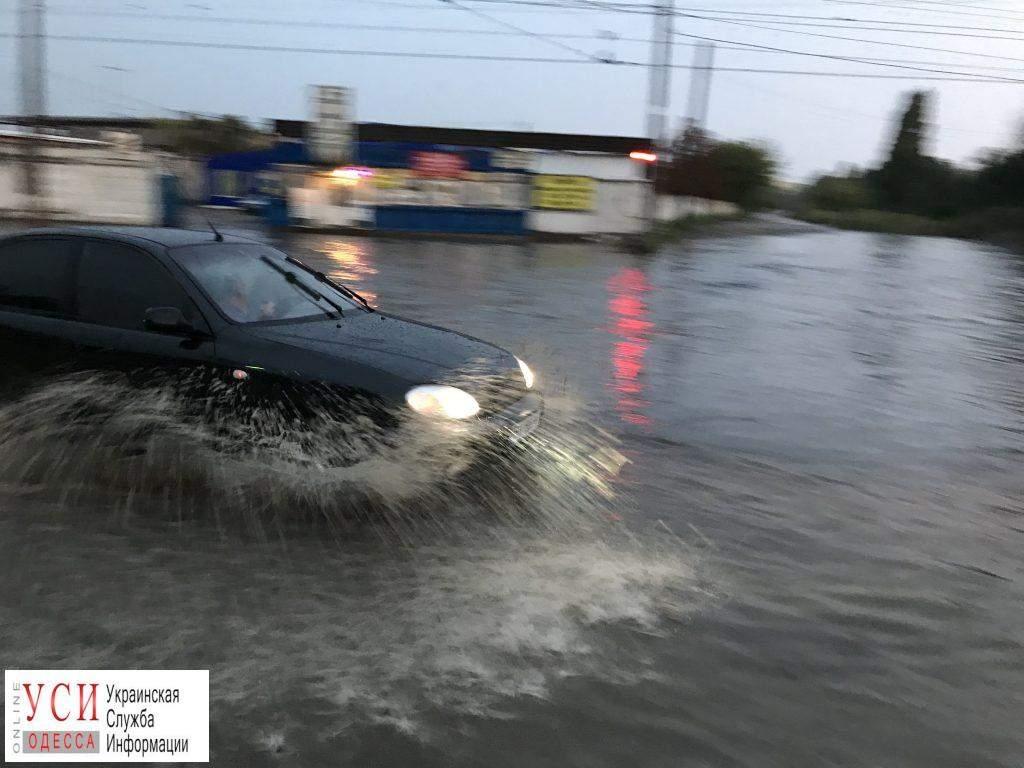 В Одессе в результате непогоды были затоплены улицы
