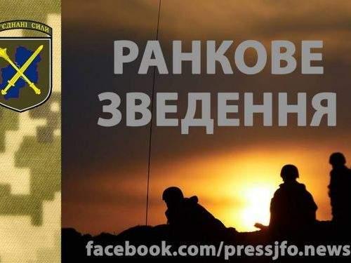 Сутки в ООС: Погиб украинский военный, ещё трое ранены