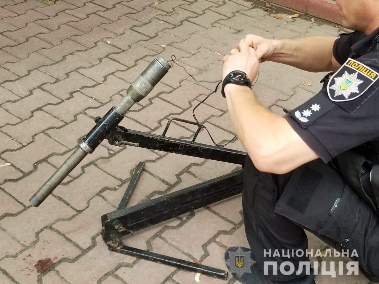 В Одессе заминировали автомобиль ректора МГУ