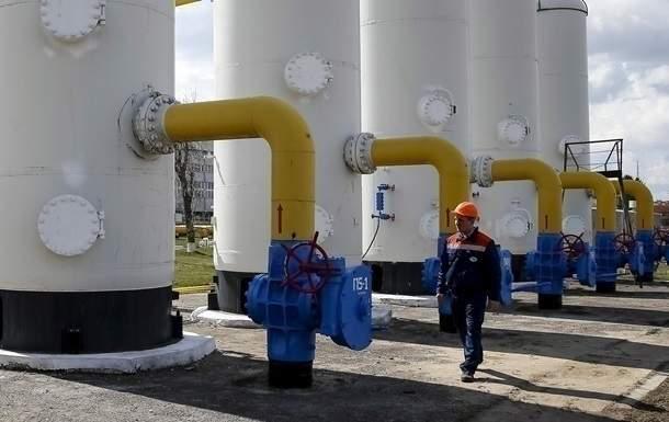 Импорт газа в Украину из ЕС сократился на 26,6%