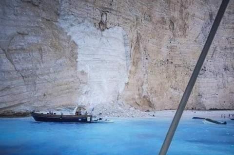 В Греции в результате обрушения скалы пострадали 7 человек