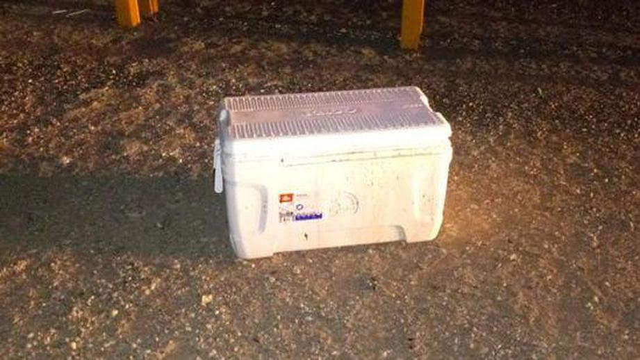 В Мексике на дороге нашли холодильник, в котором находились головы мужчин