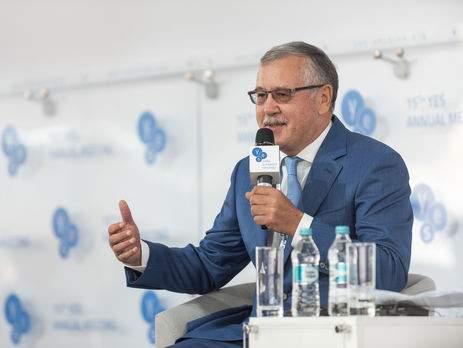 Гриценко считает, что вскоре Украина станет ведущей страной в Восточной Европе