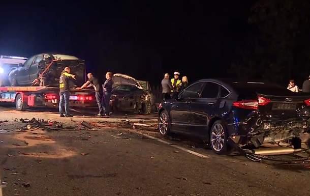 В Польше столкнулись 16 авто. Пострадали 12 человек