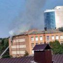 В Хмельницком вспыхнула школа