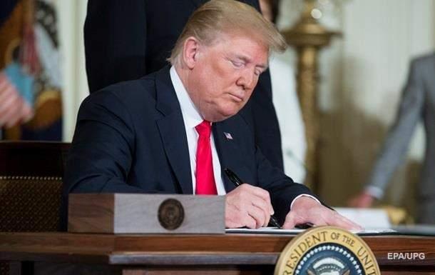 Трамп подписал указ об ужесточении соблюдения режима санкций против РФ