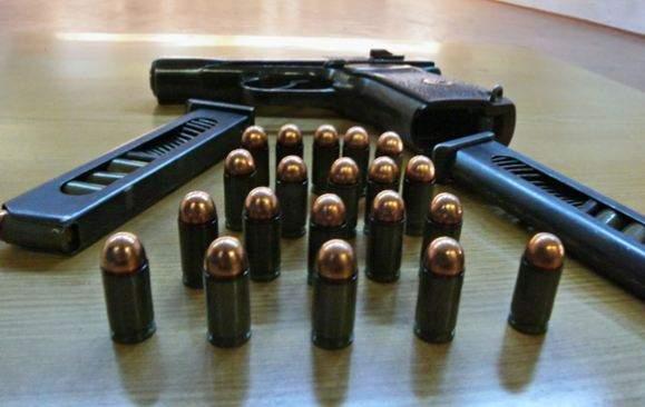 На Киевщине местный житель торговал оружием и боеприпасами