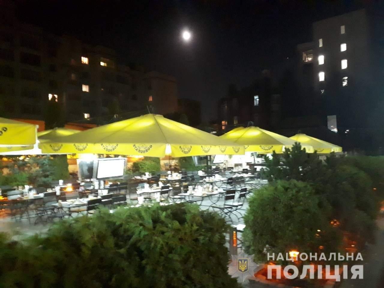 В Харькове неизвестные