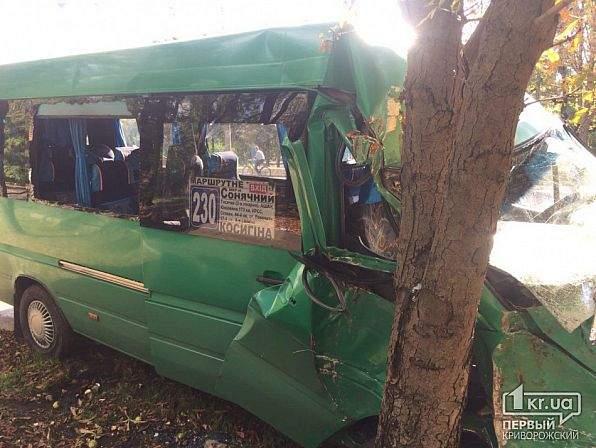 В Днепропетровской области произошло серьёзное ДТП, в результате которого пострадали 11 человек