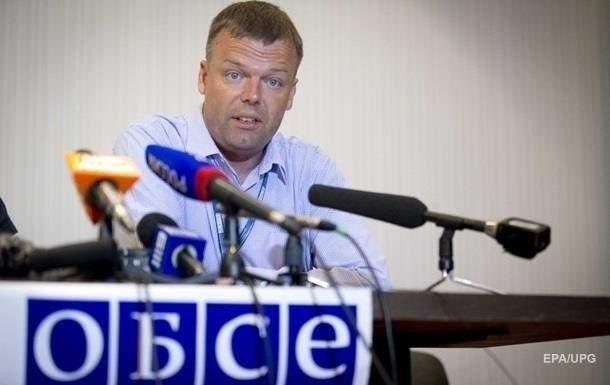 Замглавы миссии ОБСЕ в Украине планирует уволиться
