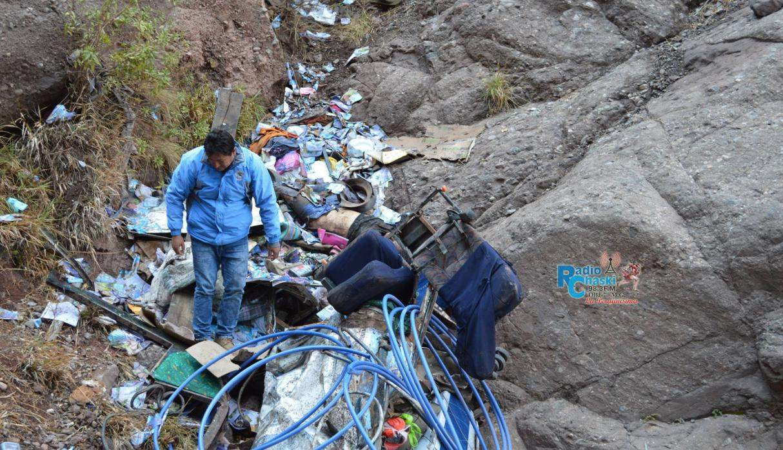 В Перу в ущелье упал автобус с людьми. Много погибших