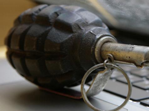 В Днепре нашли боевую гранату возле детской площадки