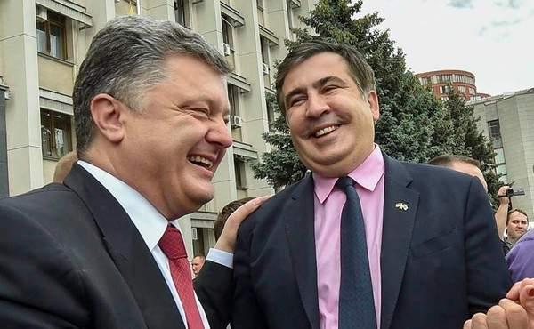 Саакашвили считает, что Порошенко будут судить по статье о госизмене