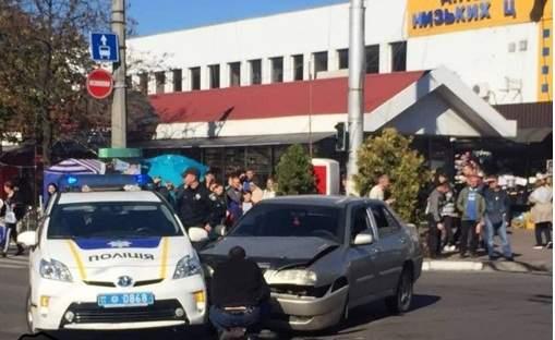 В Полтаве сотрудники полиции попали в ДТП