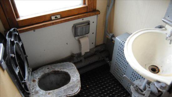 В туалете поезда нашли труп АТОшника