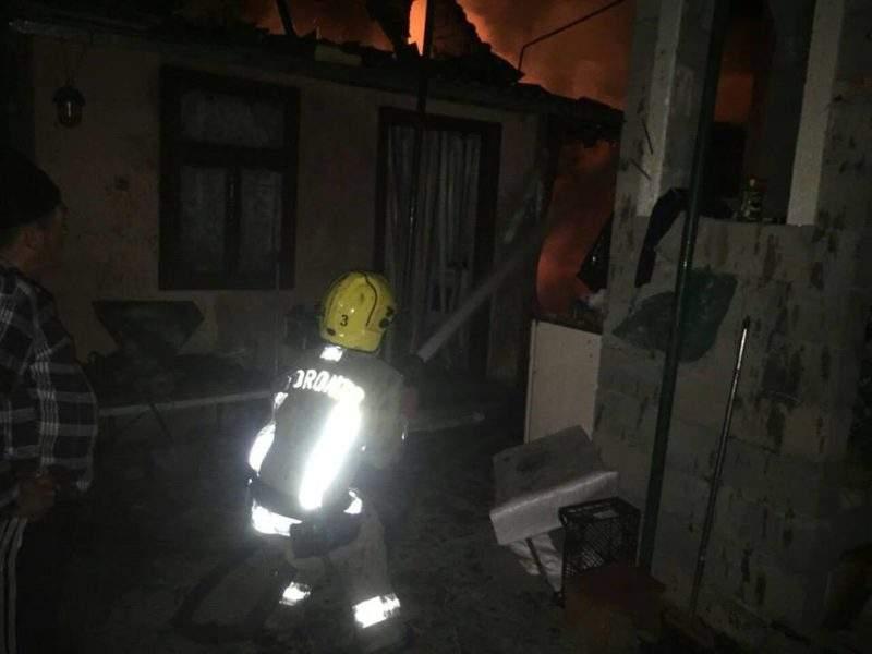 На Закарпатье в частном доме горела котельная (фото)