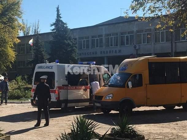 Взрыв в Керчи: 10 учащихся колледжа погибли, еще 50 получили ранение