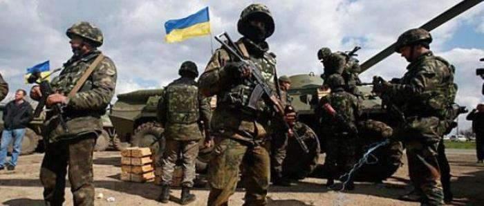 На Донбассе обстреляли позиции ВСУ