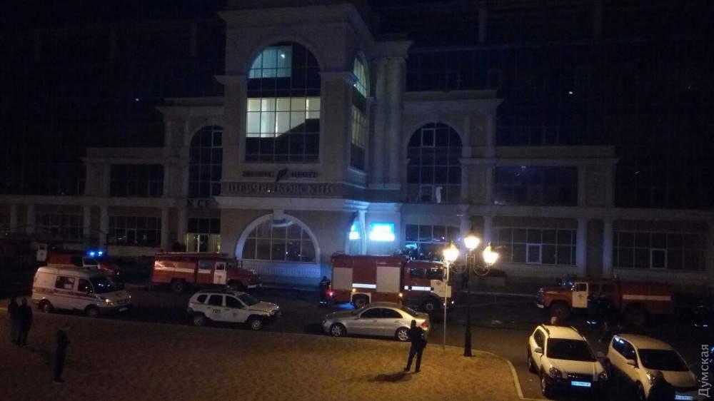 Пожар на стадионе «Черноморец» в Одессе: в результате взрыва гироскутера проведение игр в ближайшее время невозможно