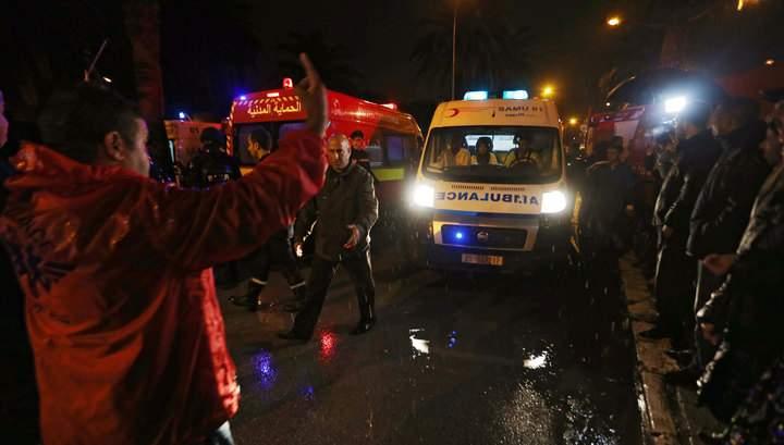 В Тунисе произошёл мощный взрыв. Есть пострадавшие