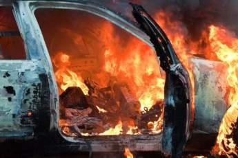 В Запорожской области убийца сжег автомобиль вместе со своей жертвой, чтобы замести следы