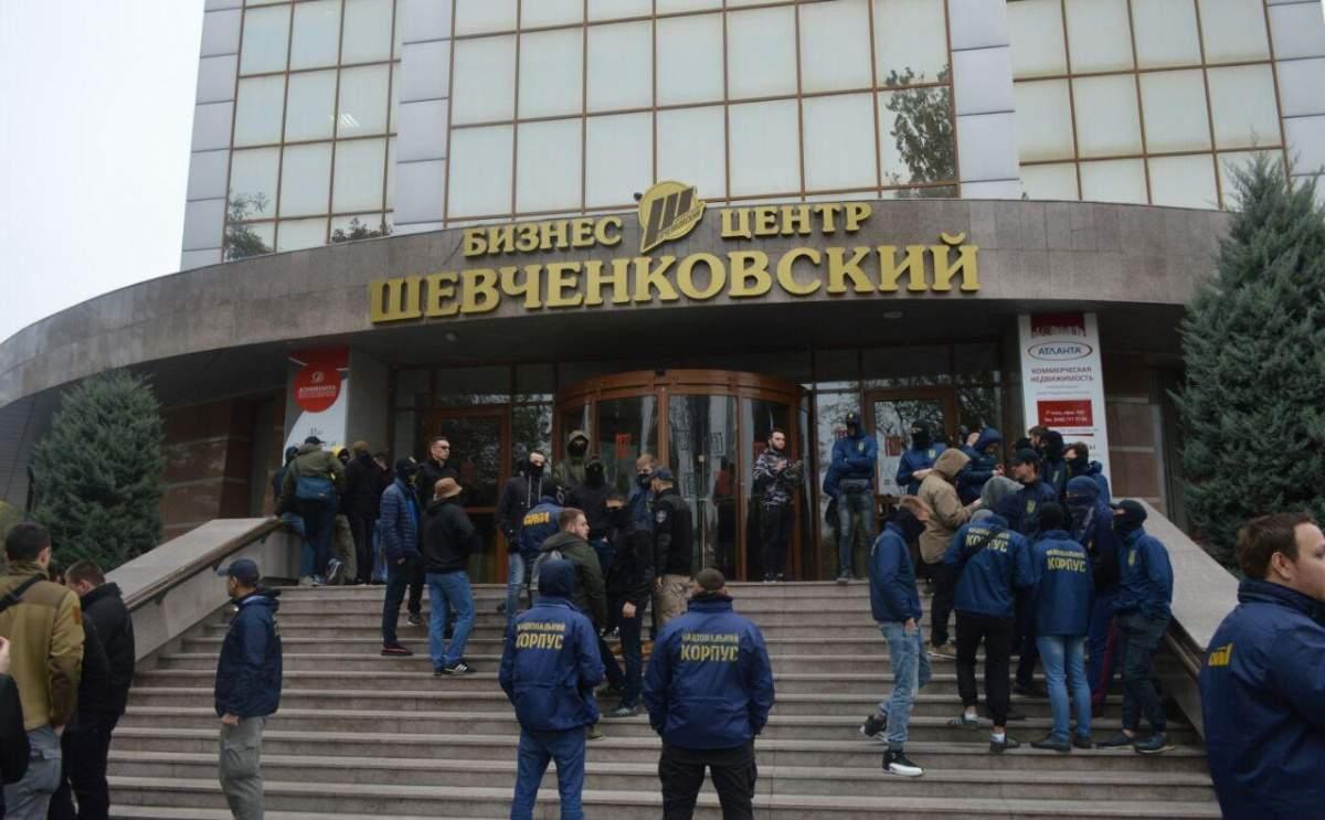 В Одессе националисты поставили ультиматум депутаты Верховной Рады