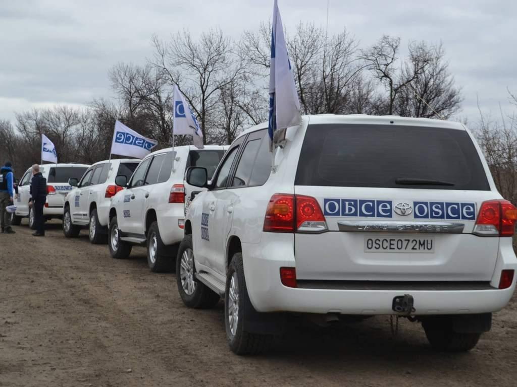 ОБСЕ: На Донбассе расстояние между украинскими военными и противником сократилось на 1 км