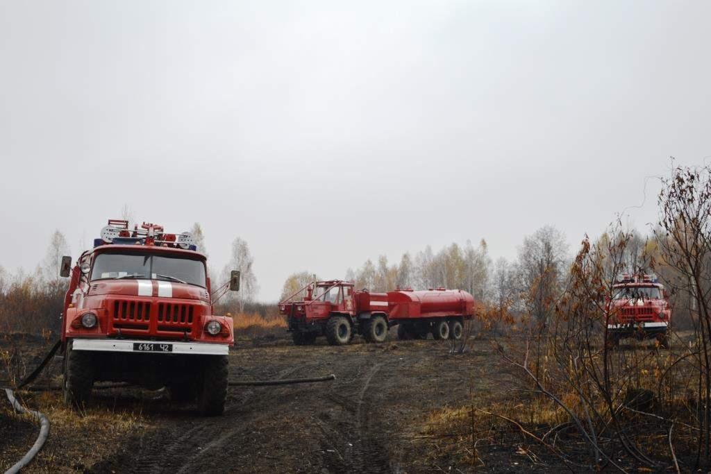 На Черниговщине уже две недели тушат возгорание торфяников (фото)