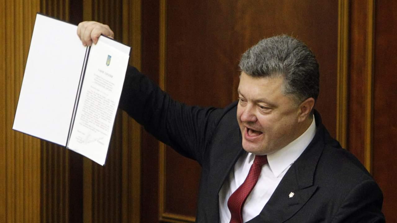 Порошенко подписал закон об уголовной ответственности за незаконное пересечение границы