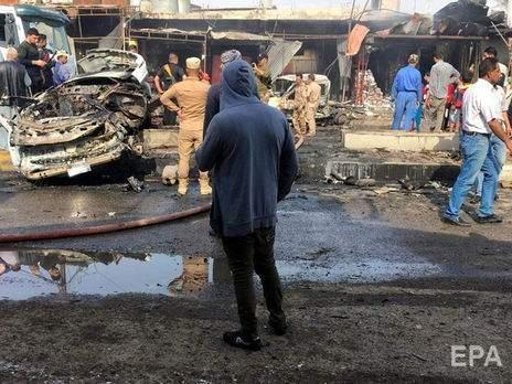В Ираке в результате мощного взрыва погибли люди