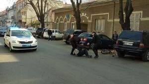 В Закарпатской области сотрудник полиции за рулём авто совершил наезд на человека