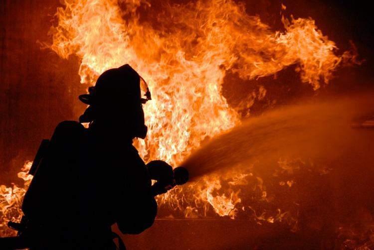 В Одесской области произошёл пожар: Пылал шиномонтаж