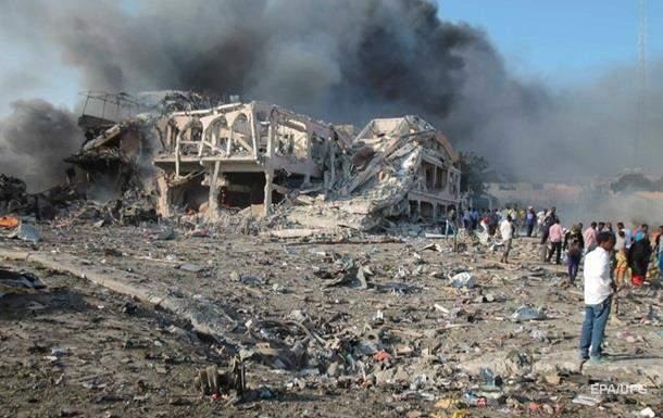 Взрыв в Сомали: Число погибших увеличилось до 53