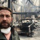 В результате природного пожара в Калифорнии был уничтожен дом Джерарда Батлера (фото)