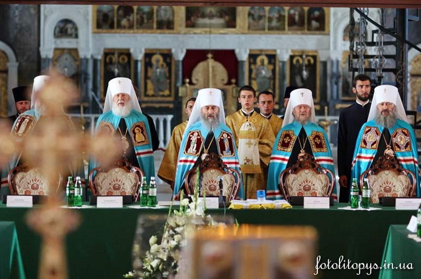Архиереи УПЦ встретились с Порошенко в Украинском доме