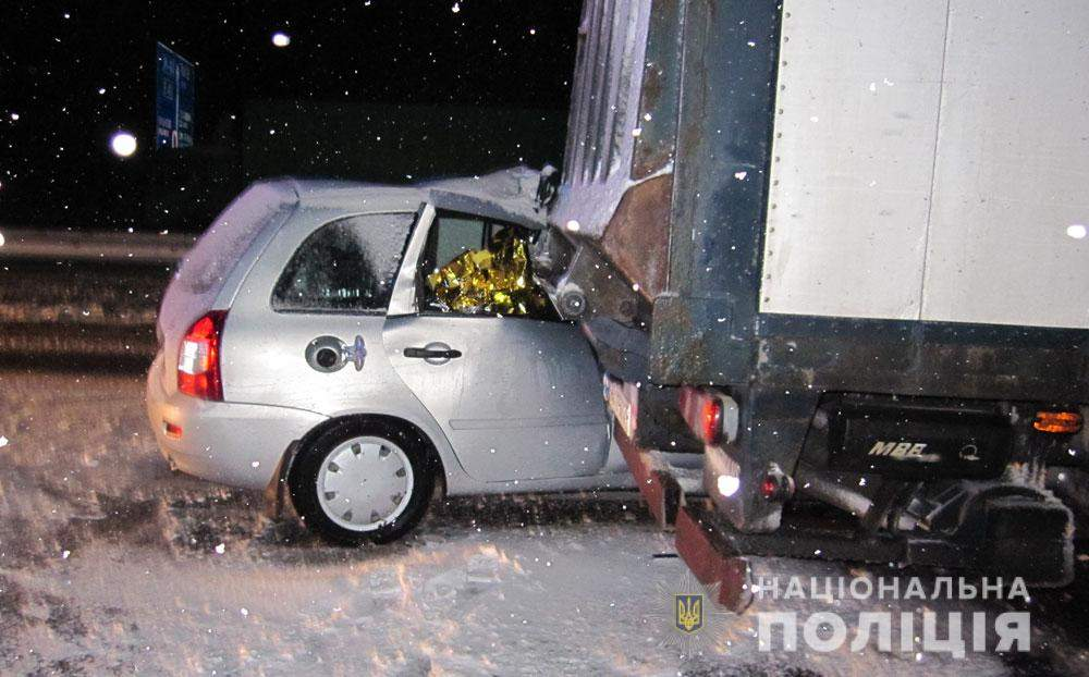 В Полтавской области произошло кровавое ДТП. 4 пострадавших