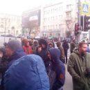В Харькове под зданием горсовета состоялась акция протеста